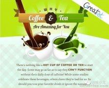 Coffee vs Tea 咖啡和茶对人体的好处